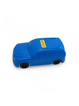 Carro Juguete Pioolli Decorable con Sticker - Azul