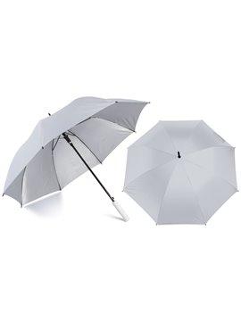 Paraguas Golf Interior Plateado 27 Pulgadas Alta Calidad - Blanco