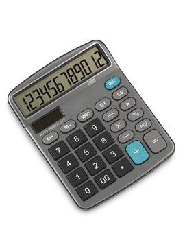 Calculadora De Escritorio Executive 12 Digitos Plastico - Negro