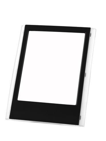 Portaretrato Almanaque Para Escritorio En Plastico - Negro