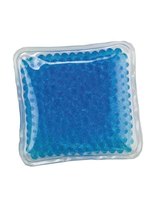 Pad Cojin Cool And Hot Pad Forma Cuadrada Con Gel - Azul