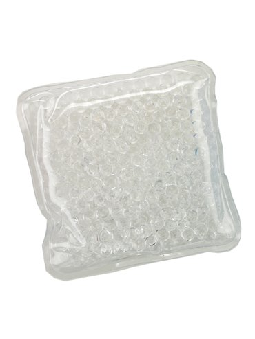 Pad Cojin Cool And Hot Pad Forma Cuadrada Con Gel - Blanco