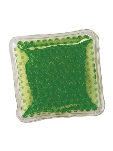 Pad Cojin Cool And Hot Pad Forma Cuadrada Con Gel - Verde