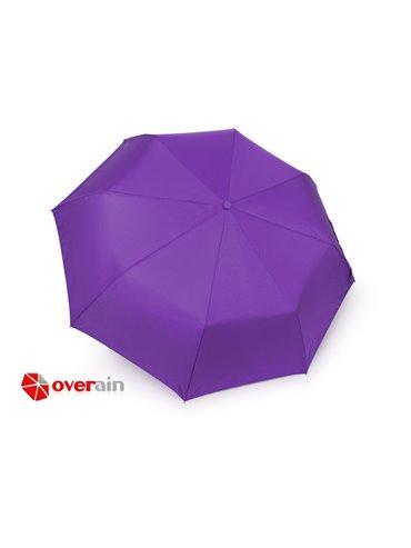 Paraguas 21 Plegable Automatico Luxury - Morado