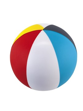 Bola Balon Antiestres Beach En Poliuretano - Multicolor