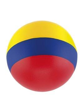 Bola Antiestres Tricolor En Poliuretano - Bandera Colombia