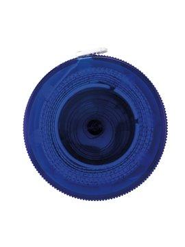 Cinta Metrica Plastico Retractil Button De 1 Metro - Azul