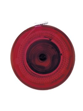 Cinta Metrica Plastico Retractil Button De 1 Metro - Rojo