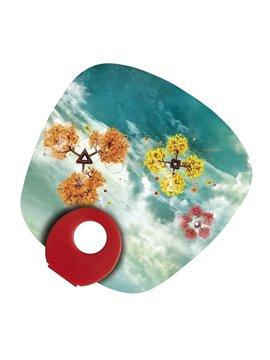 Alcancia Mini Con Diseño Cerdito Cristal - Amarillo