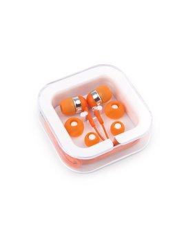 Audifonos Case En Estuche Disponibles - Naranja