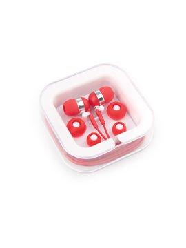 Audifonos Case En Estuche Disponibles - Rojo