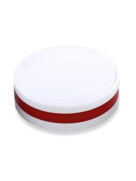 Multipuerto USB De 4 Salidas Einstein Diseño Redondo - Rojo