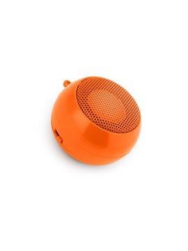 Altavoz Music Estereo Alta Fidelidad con Usb y Plug de Audio - Naranja