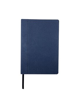 Agenda Libreta Cuadernillo Dettifoss en Curpiel - Azul