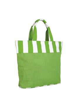 Tula Bolsa Bolso Mallorquin Elaborado en Yute - Verde
