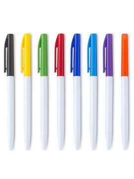 Esfero Boligrafo Plastico Matisse En Colores Neon Retractil - Amarillo