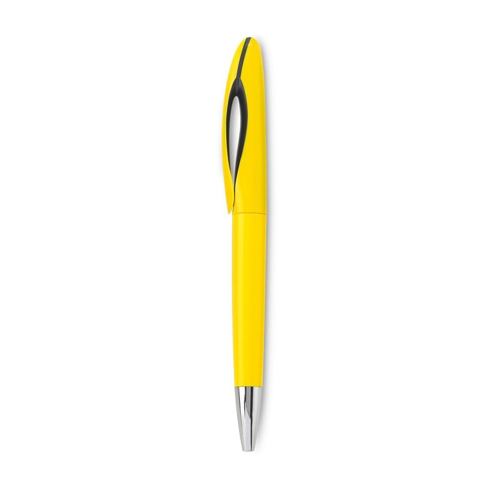 Esfero Boligrafo Matty Sistema Twist - Amarillo