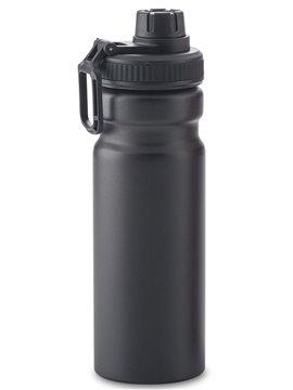 Botella Botilito Metalico Cassandra 700 ml - Negro