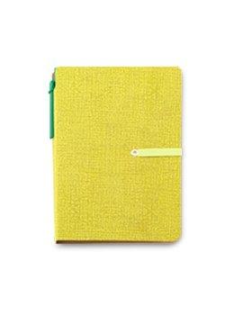 Libreta Royston Block de Notas 70 Hojas Boligrafo - Verde