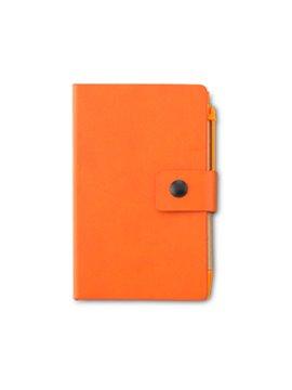 Libreta Graham 50 Hojas Stickies Boligrafo - Naranja