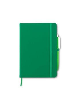 Set Boligrafo y Libreta Matt 80 hojas rayadas - Verde
