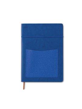 Libreta Walden Bolsillo externo 96 hojas rayadas - Azul