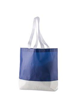 Bolsa Laminada En Cambrel Aiden Plastificado Mate - Azul Oscuro