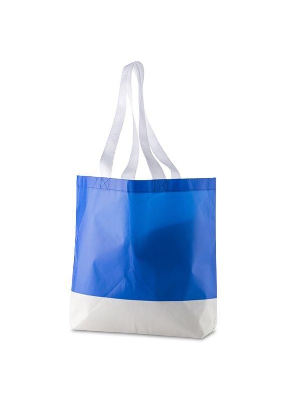 Bolsa Laminada En Cambrel Aiden Plastificado Mate - Azul Royal