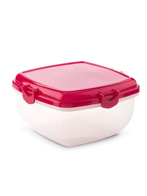 Set Portacomida Lunch Recipiente Para Liquidos - Rojo