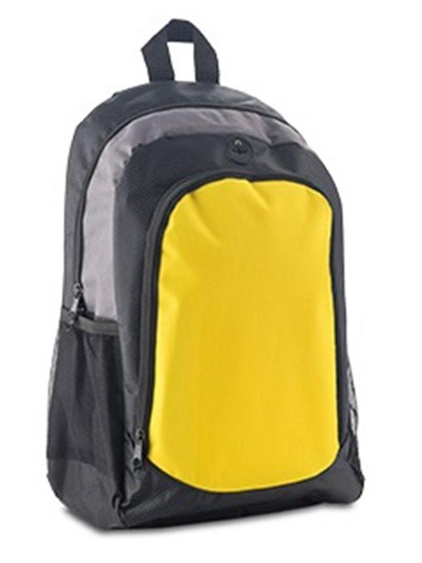 Maleta Morral Backpack Bemot Amplio Compartimento - Amarillo
