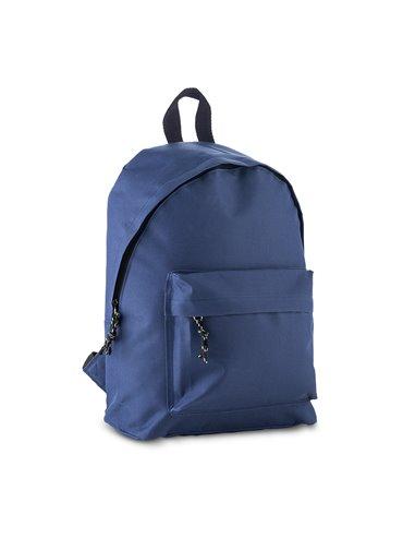 Maleta Morral Backpack Derex Poliester 600D Bolsillo Externo - Azul oscuro