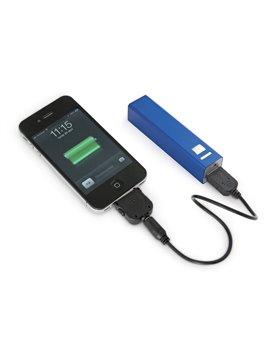 Cargador Multicharger Adaptador para iPhone iPad MP3 - Azul
