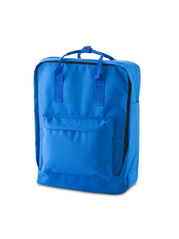Morral Maleta Backpack Lorenz Bolsillo En Cada Lateral - Azul