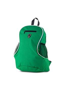 Morral Maleta Backpack Fonzell Bolsillo Externo Con Malla - Verde