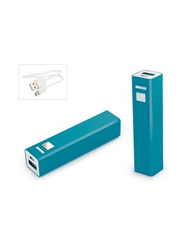 Cargador Multicharger Adaptador para iPhone iPad MP3 - Azul Claro