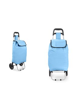 Carrito de Mercado Merk Diseno Practico Gran Capacidad - Azul Claro