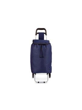 Carrito de Mercado Merk Diseno Practico Gran Capacidad - Azul Oscuro