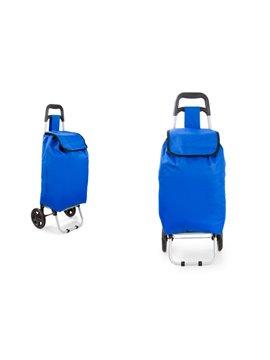Carrito de Mercado Merk Diseno Practico Gran Capacidad - Azul