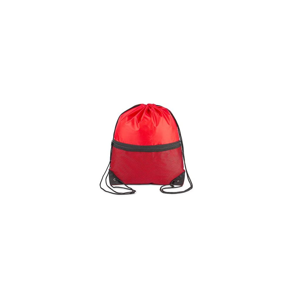 Tula Mochila London Doble Cordon Refuerzo Esquinas - Rojo
