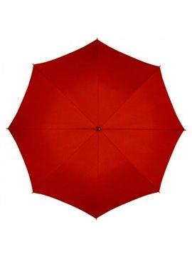 Sombrilla Paraguas UV Circular 27 Pulgadas AntiBrisa - Rojo