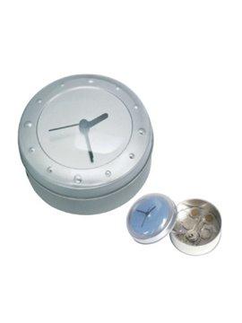 Reloj Guarda Todo Espacio Interior para Guardar Objetos - Plata