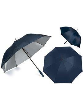 Paraguas Golf Interior Plateado 27 Pulgadas Alta Calidad - Azul Oscuro