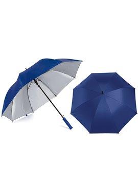 Paraguas Golf Interior Plateado 27 Pulgadas Alta Calidad - Azul Rey