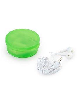Audifonos Cole intrauditivos practico estuche 1.5 m - Verde