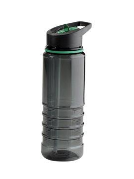 Termo Botella Lacross 750 Ml Plastico Facil Agarre - Negro/Verde