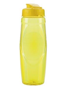 Botella Botilito Pvc Helice 650Ml Tapa Rosca Pestaña - Amarillo