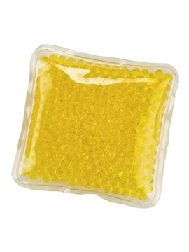 Pad Cojin Cool And Hot Pad Forma Cuadrada Con Gel - Amarillo