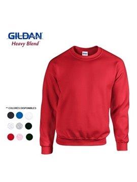 Gildan Buso Saco Sencillo Talla L Poliester 279 Gr - Rojo