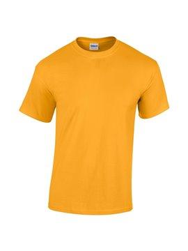 Gildan Camiseta Talla L T Shirt Adulto Cuello Redondo - Amarillo