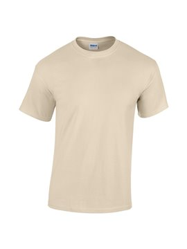 Gildan Camiseta Talla L T Shirt Adulto Cuello Redondo - Arena